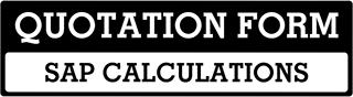 SAP Calculations Quote  For Gloucestershire